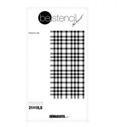 be.stencil - fabric 003
