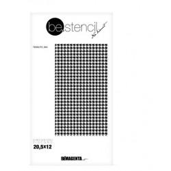 be.stencil - fabric 004