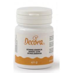 gum arabic 40g - Decora