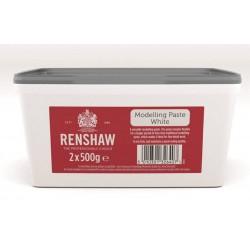 Pâte de modelage blanche - 2 x 500g - Renshaw