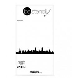 be.stencil - skyline 001