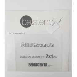 be.stencil - events - Glückwunsch small 001