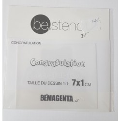be.stencil - events - congratulation small 007