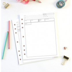 Bloc-notes pour Cookie Planner