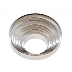 Cercle inox ø 20 x h 6 cm Decora