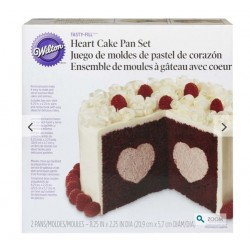 Heart cake pan set Wilton