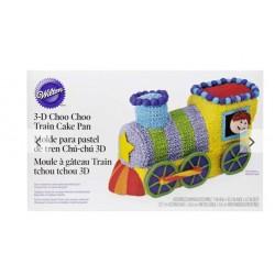 Moule à gâteau train tchou tchou 3D Wilton