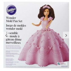Wonder mold doll cake kit Wilton