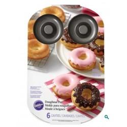 Moule 6 donuts Wilton 8 x H 3cm