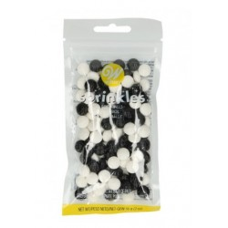 Sugar decoration sprinkles footballs Wilton - 56g