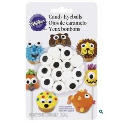 Wilton large candy eyeballs - 28g