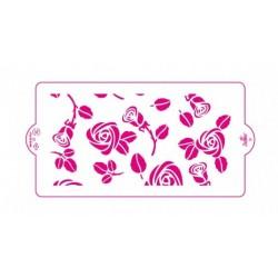 Stencil roses - Decora - 15 x 30 cm