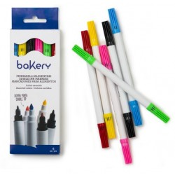 Edible ink markers double tip - Decora - 6p