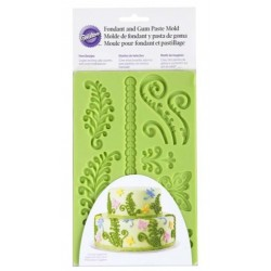 Fondant and sugar paste silicone mold - fern - Wilton