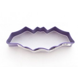 Metal cutter Halloween - purple bat - Wilton