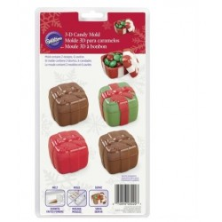 Mold chocolate candy gift boxes Wilton