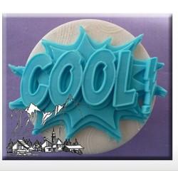 Silicone Mold - Comic Splash Cool - Alphabet Moulds