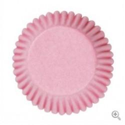 Caissettes à cupcake couleur rose - 50pcs - 50 mm - Culpitt