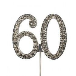Topper diamante number 60 - Culpitt