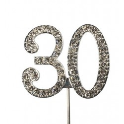 Topper diamant numéro 30 - Culpitt