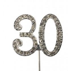 Topper diamante number 30 - Culpitt
