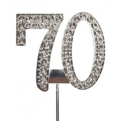 Topper diamant numéro 70 - Culpitt