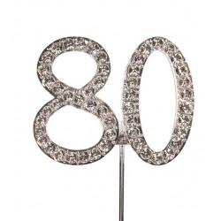 Topper diamant numéro 80 - Culpitt
