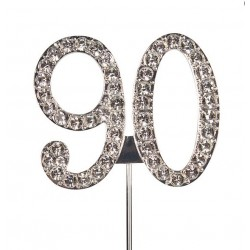 Topper diamante number 90 - Culpitt