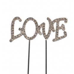 Topper diamant Love - Culpitt