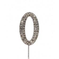 Topper diamante number 0 - Culpitt