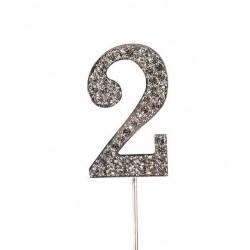 Topper diamant numéro 2 - Culpitt