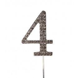 Topper diamant numéro 4 - Culpitt