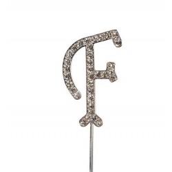 Topper diamante letter F - Culpitt