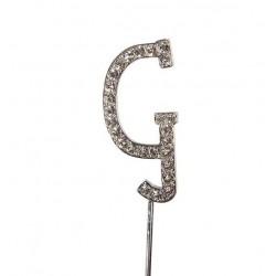 Topper diamante letter G - Culpitt