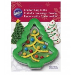 Comfort Grip Metal Cookie Cutter - Christmas Tree - Wilton