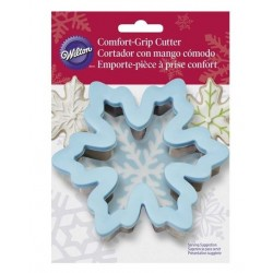 Comfort Grip Metal Cookie Cutter - Snowflake - Wilton
