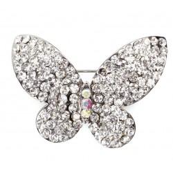 Broche Diamant Papillon - Culpitt