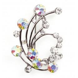 Broche Diamant Swirl - Culpitt