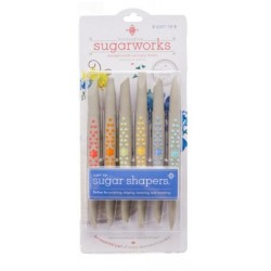 Sugar shapers - soft tip - 6p - innovative SUGARWORKS