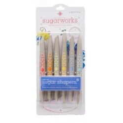 Sugar shapers - soft tip - 6p - innovative SUGARWORKS