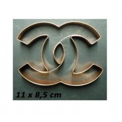Copper Cutter Chanel - 11 x 8.5 cm - Cutters Pepe