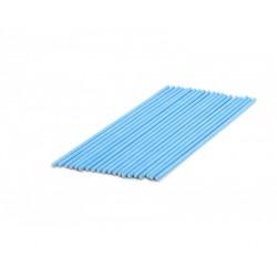 Pack 20 cake pop sticks - blue - H 15 cm