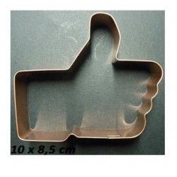 """I like"" hand copper cutter - Cutters Pepe"