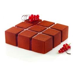 CUBIK moule silicone - 17.2 x 17.2 ht 5 cm - Silikomart