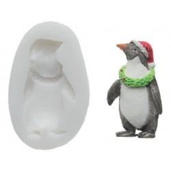 SLK048 Penguin - silicone mold - Silikomart
