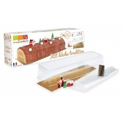 Christmas yule log set - ScrapCooking