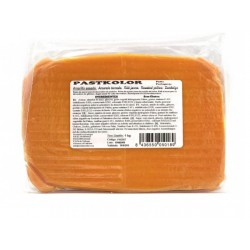 Sugar paste roasted yellow - 1kg - Pastkolor