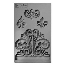 Vintage Art Décor Mould - Bridgeport Irongate - re design