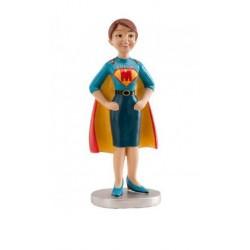 Figurine - Super Maman - en résine - 13cm