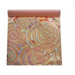 Set 25 copper spirals sheets 14x14cm